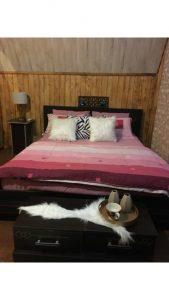 اتاق خواب اجاره ویلا جنگلی دوبلکس نوشهر