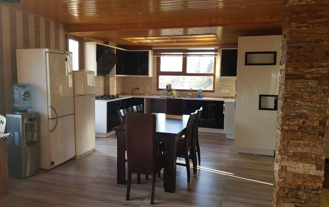 آشپزخانه ویلا جنگلی 3خوابه نوشهر